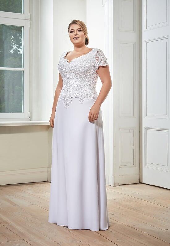 Plus Size Brautkleid